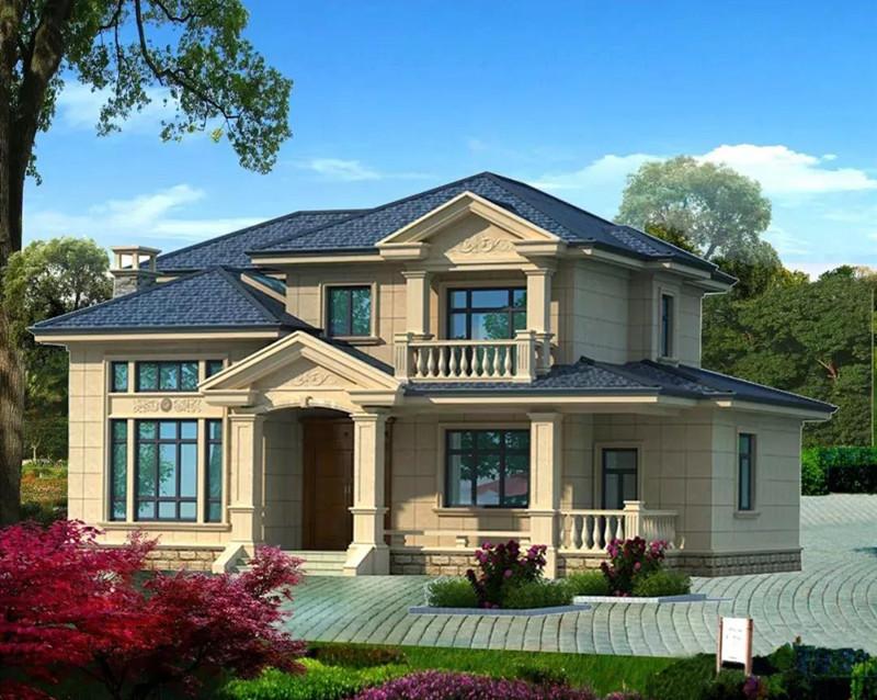 二层245平米轻钢别墅户型图