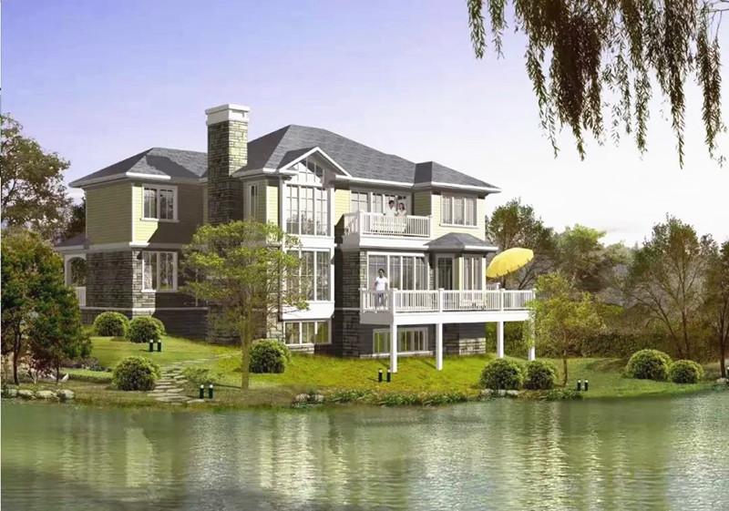 三层340平方轻钢别墅户型图